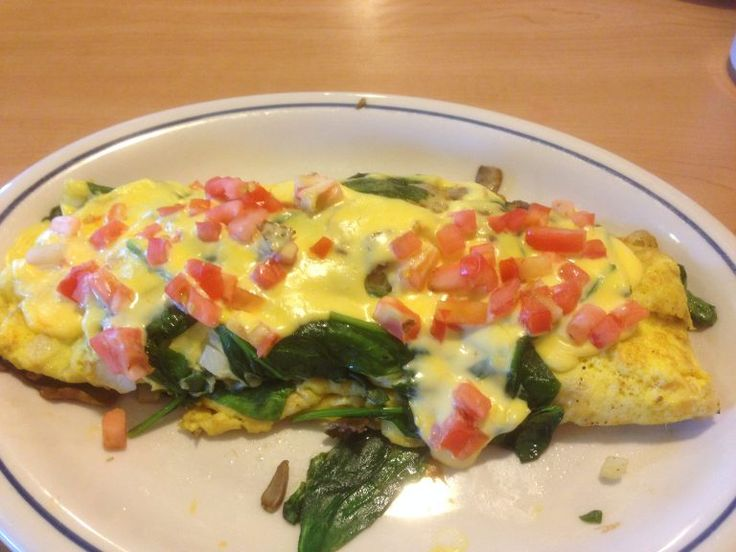 Ihop Spinach And Mushroom Omelette Knockoff Recipe