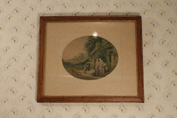Antique Framed Print The Image Boy Vintage by ClockworkRummage, $15.00