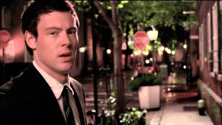 Rachel & Finn from Glee-A tribute to Cory Monteith-We've Got Tonite from...