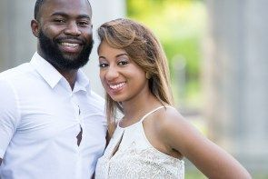Fisk University Love Engagement Session - Black Southern Belle