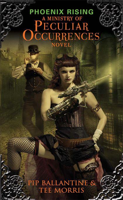 My blog! Atomic Pirate Girl's Book Worm Booty: Phoenix Rising - Phillipa Ballatine and Tee Morris