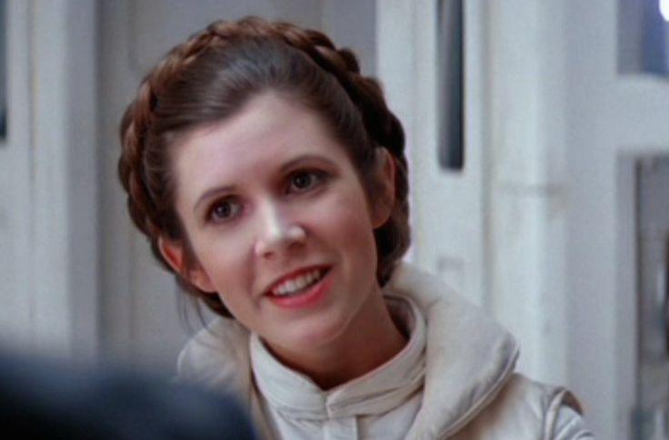 Princess Lea | Prinzessin leia, Star wars mädchen, Carrie