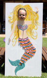 Mermaid Party...I don't know why I'm pinning this. It's just cute!