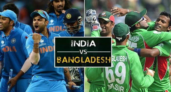 India v Bangladesh Live Cricket Match HD Ten Sports, PTV Sports, Sky Sports, HotStar