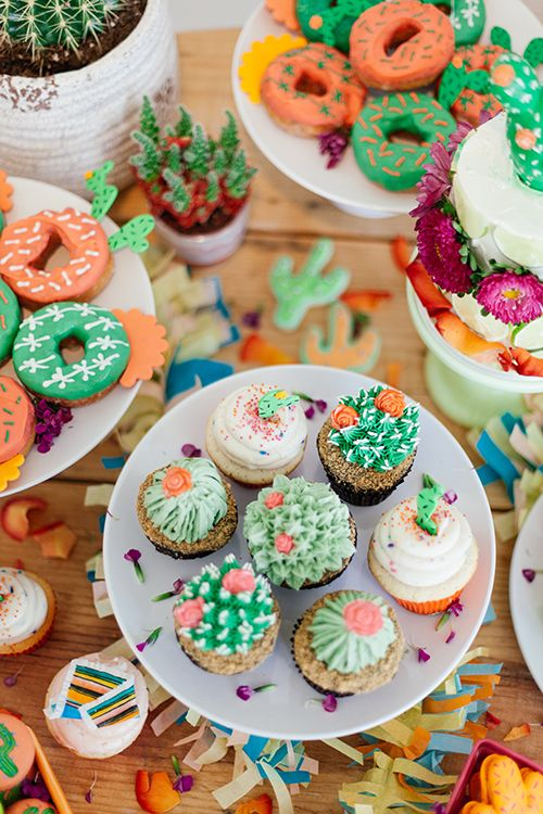 The perfect summer night desert themed birthday party- now on The Shift Creative blog!