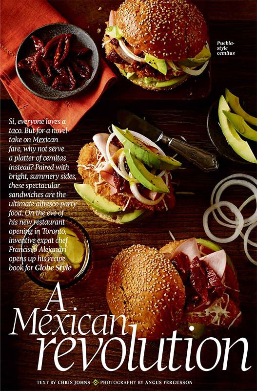 Globe Style has a Mexican fiesta! Photographer:  Angus Fergusson Tabletop styling:  Stephanie Saunders, Judy Inc Food styling:  Ashley Denton, Judy Inc