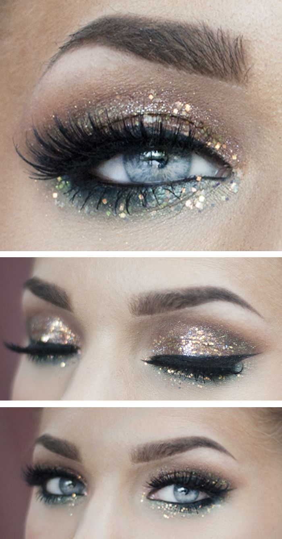 Linda Hallberg Makeup #metallic #ss14