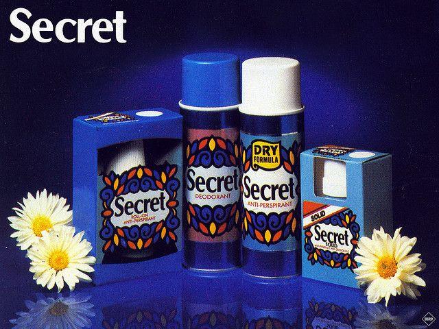 Secret deodorant   1. The Drug Store: Memories of the '50s ...