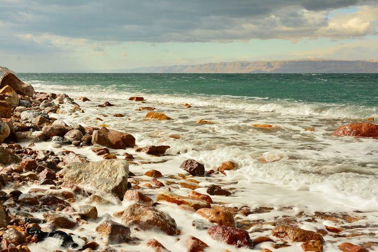 The Dead Sea from Jordan (OC) (1400x800)   landscape Nature Photos