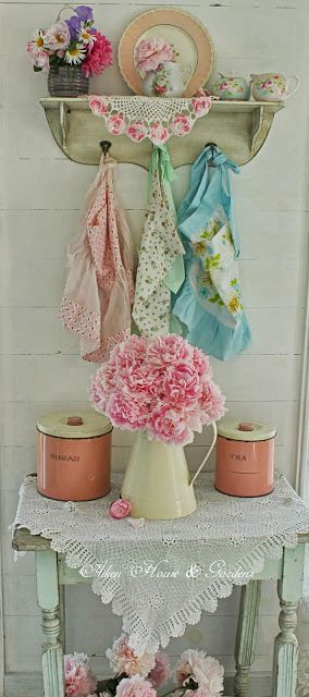 1000 images about shabby chique and romantic on pinterest roller blinds shabby chic and - Shabby chique kamer ...