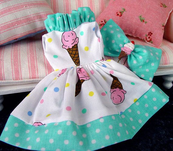 Blythe Blythe dress Blythe clothing retro  by by TheDollsDresser, $32.00