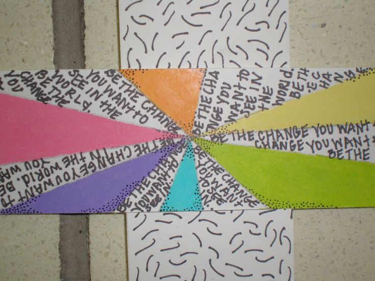 Using text to convey messages or memory within the weaving