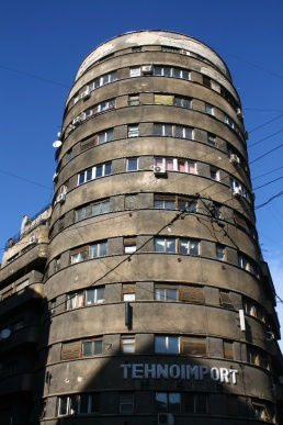 """Tehnoimport building"" build in 1935.   http://pierdutinbucuresti.wordpress.com"