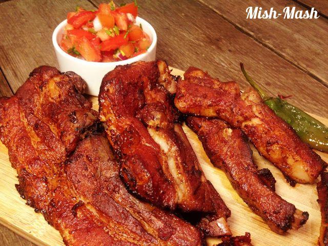 Mish-Mash: Крехки свински ребърца