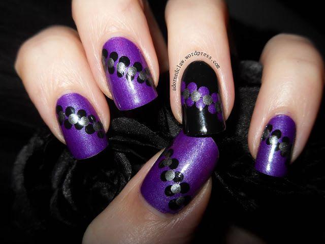 Stunning Purple Nails!