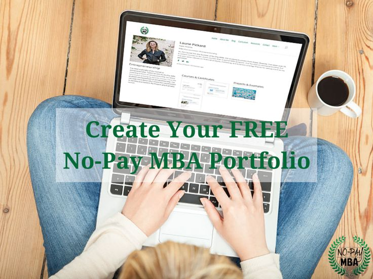 Looking for a way to show off your non-traditional business education by listing MOOCs and other online courses?  Get started with your FREE online portfolio!