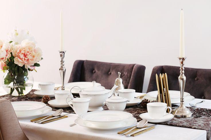 A million reason for choosing Fine Bone China porcelain for a festive table! - Un milion de motive pentru care să alegi porțelanul englezesc la masa festivă!
