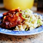 Peach-Whiskey Barbecue Chicken | The Pioneer Woman Cooks | Ree Drummond