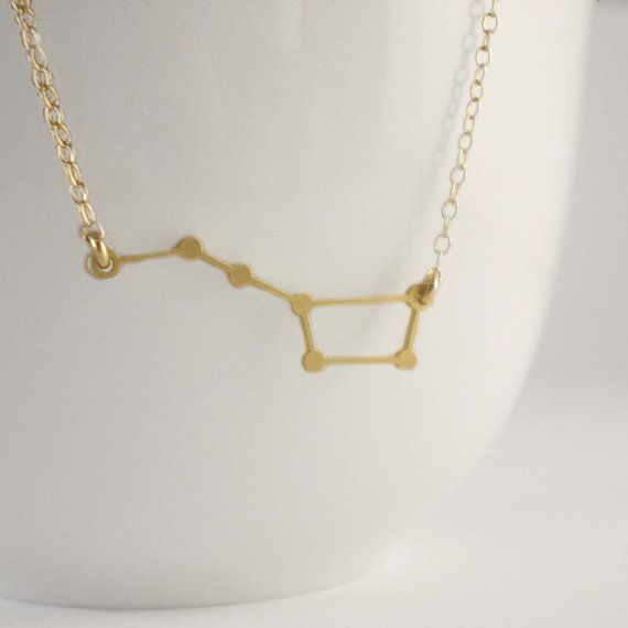 Hey, I found this really awesome Etsy listing at https://www.etsy.com/listing/185660290/big-dipper-constellation-necklace
