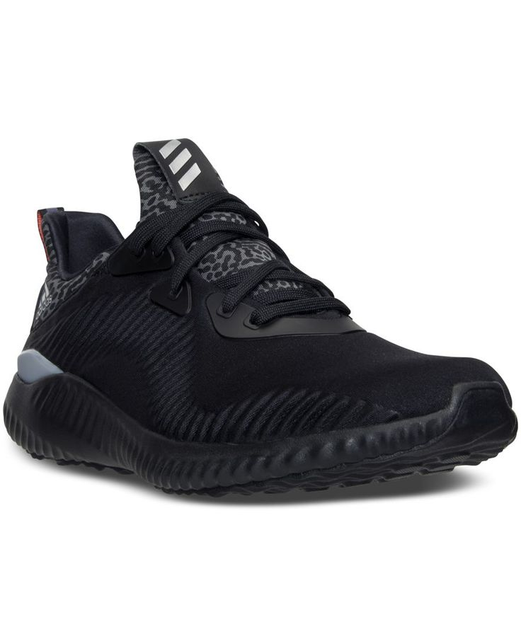 adidas Women\u0027s AlphaBounce Running Sneakers from Finish Line - Finish Line  Athletic Sneakers - Shoes - Macy\u0027s