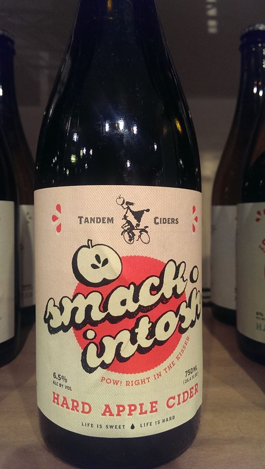 Tandem Ciders, Smack-intosh, seems to be the one of the most popular Ciders we sell! Everything& ...