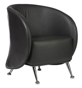 Ruby  The Ruby tub chair, with its contemporary design, will give a modern feel to any setting. Available in black, white or red and with a steel frame it is both a versatile and durable choice.   Available at: http://www.keenoffice.com.au/product/ruby/
