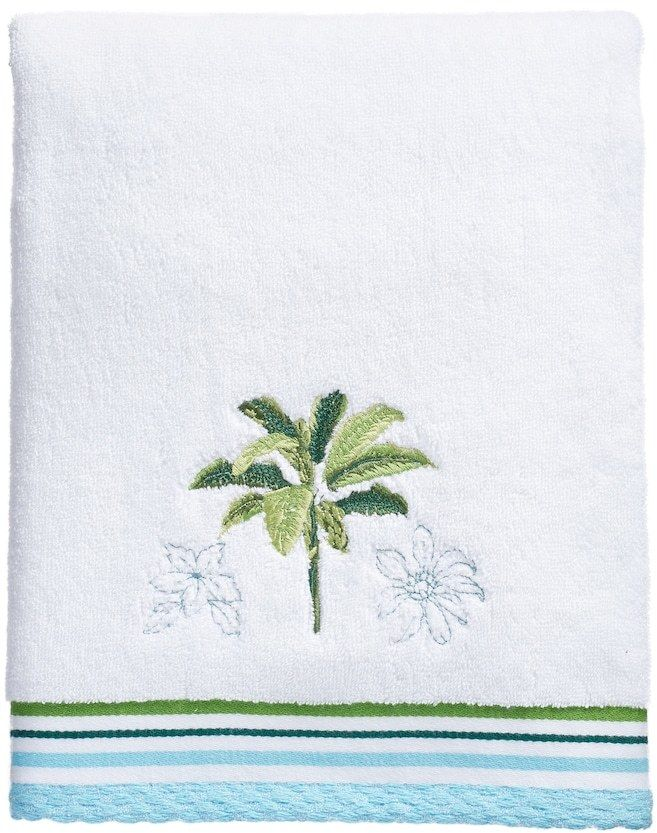 Destinations Tropical Palm Bath Towel