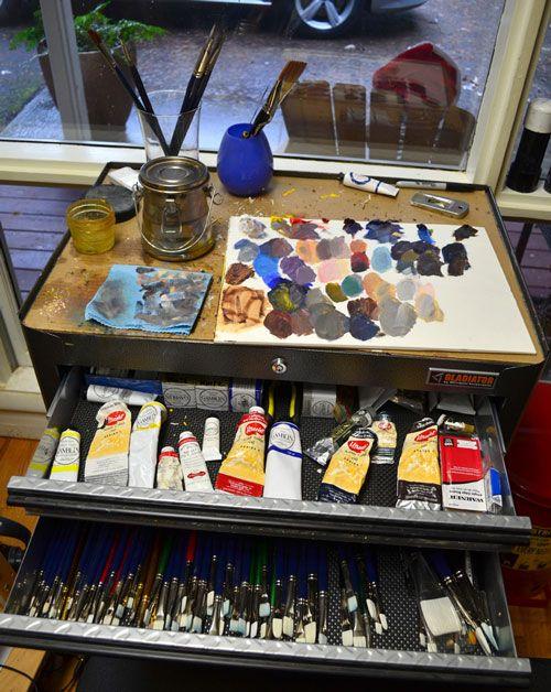 Art Tools of Carol Marine