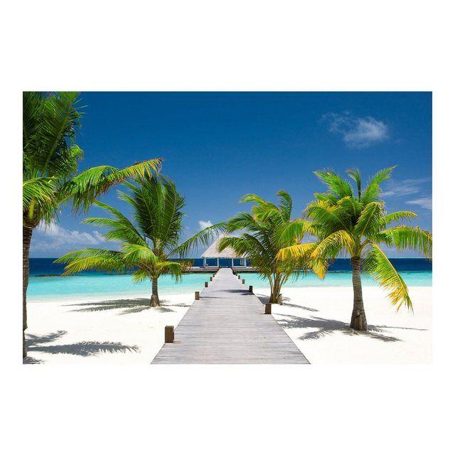 Vliestapete Premium Breit »Catwalk to Paradise«