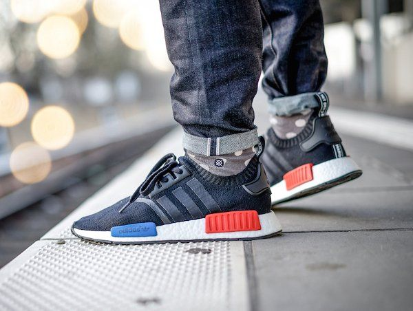 Nmd Adidas Black And Red