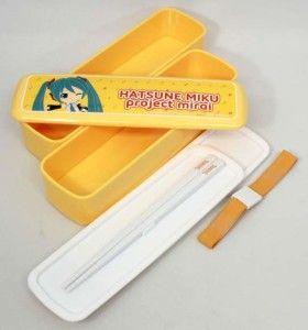 Miku Hatsune Orange Bento Box $12.00 http://thingsfromjapan.net/miku-hatsune-orange-bento-box/ #miku hatsune #hatsune miku #bento box #anime bento #lunch box