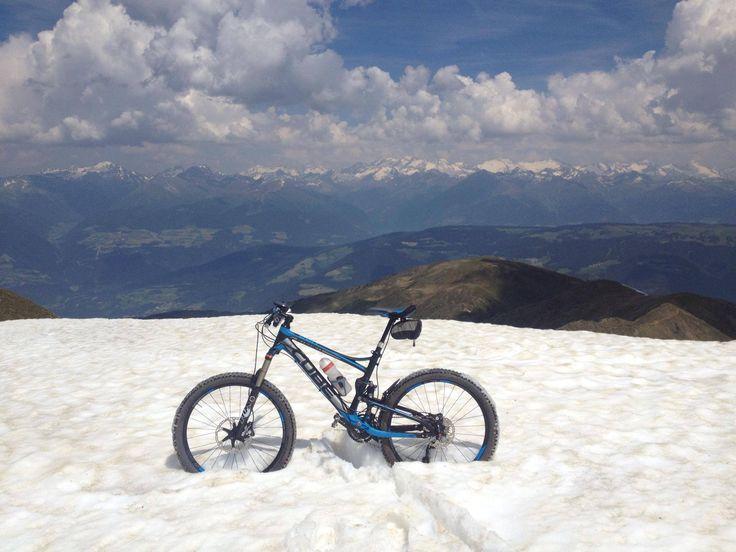 Een droomplek om te biken.