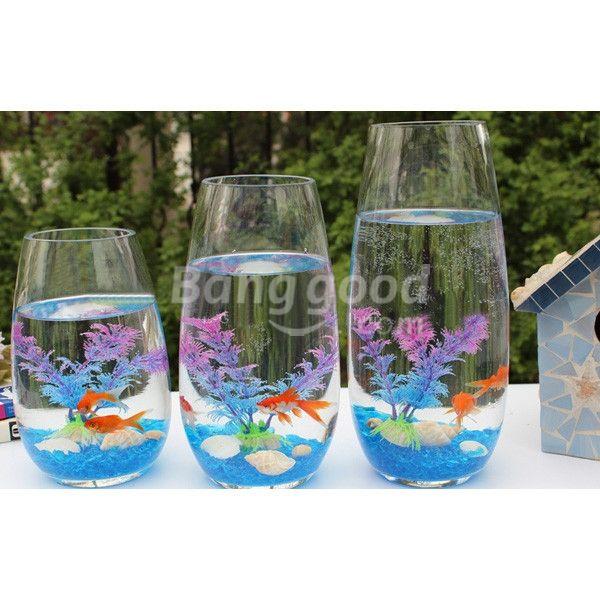 16 best fish tank decor images on pinterest fish for Fish tank decoration ideas cheap