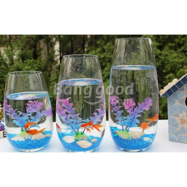 Plastic Artificial Fish Tank Ornament Plant Aquarium Decoration