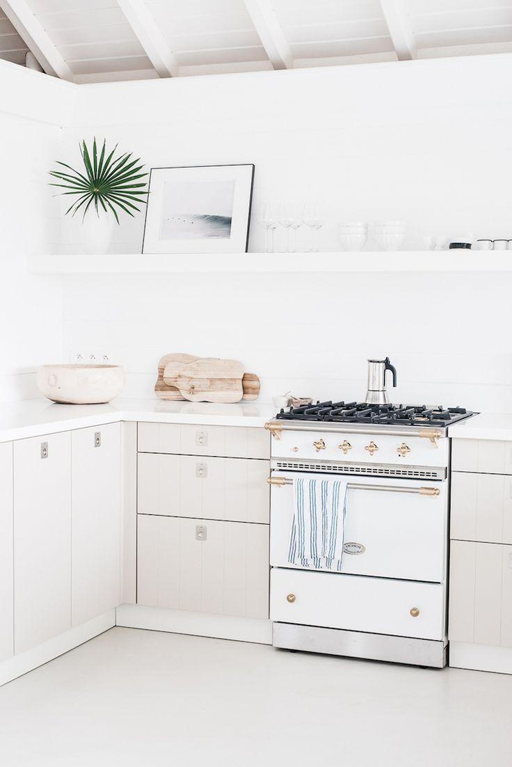 cream white and brass - kitchen | by Kate Holstein