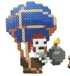 Resultado de imagem para clash royale con hama beads