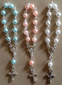 #baby #gifts #whit #pink #blue #religious #cross #GODbless #baptism #gifts #summer #toronto #canada Visit us @ www.ihomeinc.ca