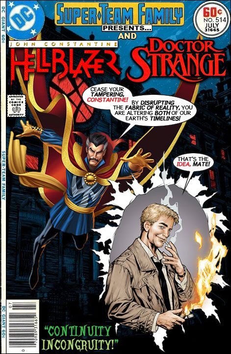 Super-Team Family: The Lost Issues!: John Constantine: Hellblazer and Doctor Strange