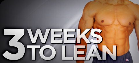 3 weeks to Lean-- bodybuilding site! I'm going to try it once the doc gives me the okay to workout again!