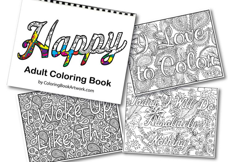 14 best Adult Coloring Book Pages images on Pinterest | Coloring ...