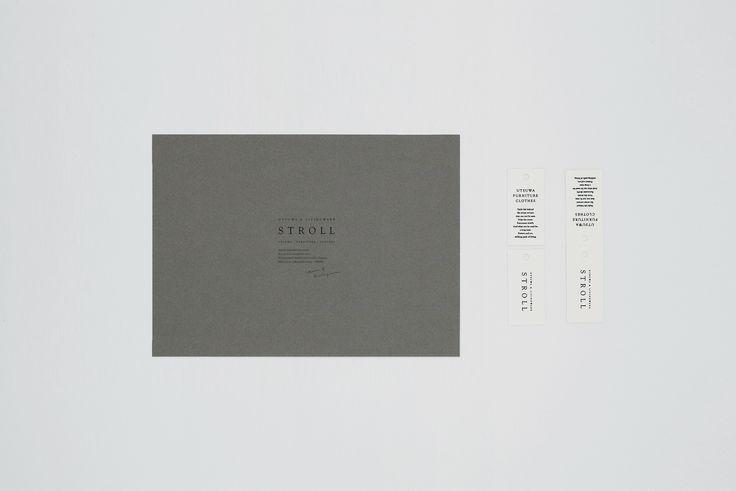 UTSUWA & LIVINGWARE STROLL _ wrapping card / tag