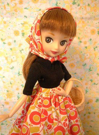 内藤ルネドールのスージーさんです。実は人形にハマったきっかけの子だったりする(笑)ある本で見て一目ボレ、ネットで探して探してようやくお迎えした子です^^お...