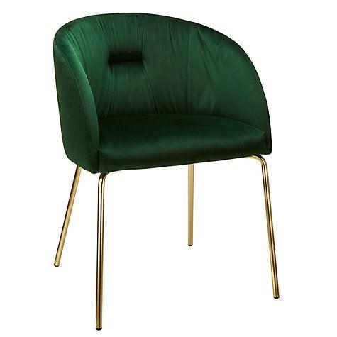 Buy John Lewis Harper Velvet Chair Online at johnlewis.com