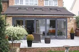 Image result for white aluminium bifold doors
