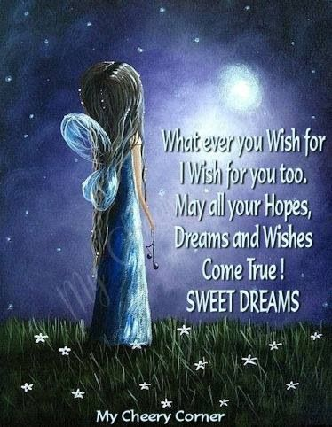My dreams hope and wishes