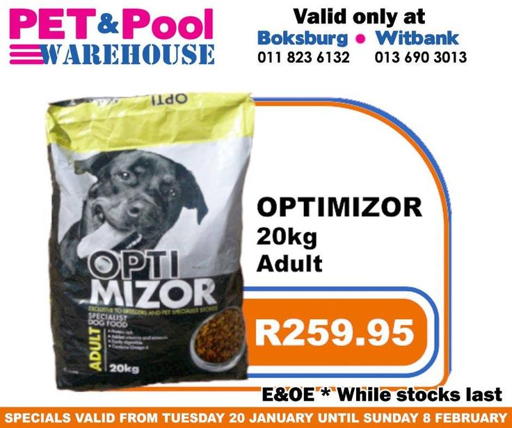 Fantastic #savings at Pet & Pool Warehouse Boksburg and Witbank, such as quality filter 3 bag only R2099.95. To view all specials click here: http://apin.link/2Z7. Specials are valid from 20th of January 2015 until 8th of Febuary 2015. While Stocks Last *E&OE #PetPool #Specials