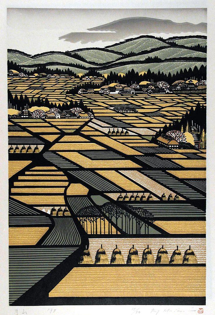 Ray Morimura est un artiste japonais né en 1948 à Tokyo qui a commencé sa carrière comme peintre abstrait mais qui est avant tout connu pour ses gravures sur bois figuratives. Ses oeuvres, simples à première vue, dévoilent une multitudes de détails à base de figures géométriques et de volumes qui créent des profondeurs quand …