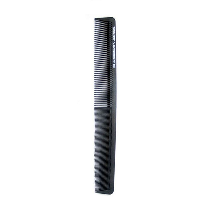 1pc Black Anti-static v Hair Combs Professional Hairstyling Haircut Comb Makeup Beauty Comb Hair Care Hairbrush For Women & Men