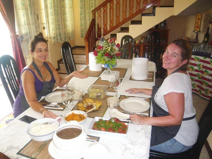 Food looks so good! Smile.
