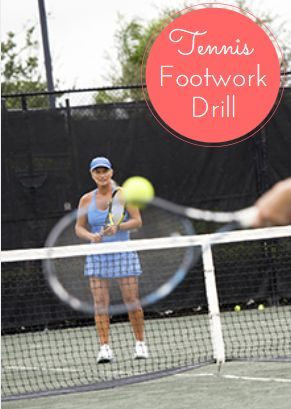 Tennis Footwork Drill to Strengthen Your Hips -